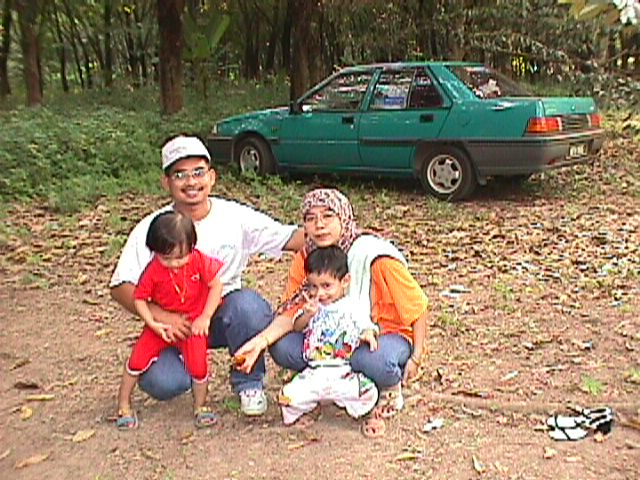 Me, my family and nephew, Farliha